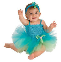 AdOrAbLe Baby Girl Ballerina Tutu Complete Costume Aqua or Purple 6-9M Rubies