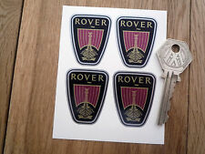 ROVER Shield Shaped Stickers Set of 4 Badge Style Viking Longboat P5 P6 2000 SD1