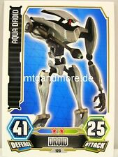 Aqua Droid  #123 - Force Attax Serie 3