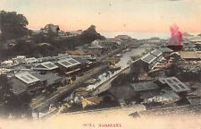 Hand Colored PC Buildings, Boats and Homes Overview Oura Nagasaki, Japan~113158