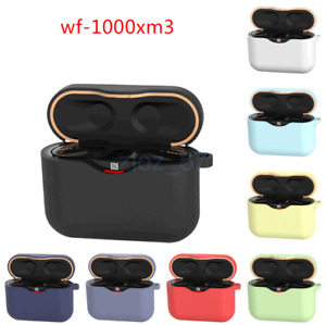 For Sony WF-1000XM3 Headset Silicone Protective Cover Case Soft Anti-Shock Shell