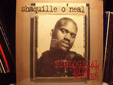 SHAQUILLE O'NEAL - BIOLOGICAL DIDN'T BOTHER (+REMIXES)  1994!!!  RARE!!!