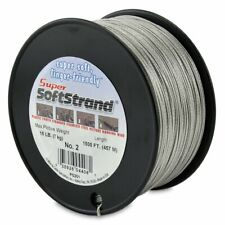Wire & Cable Specialties Super Softstrand Coated Stainless Steel Picture Wire