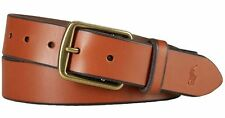Polo Ralph Lauren Men's Tan Brown Italian Leather Belt Size 42
