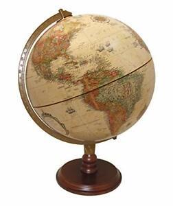 Replogle Lenox Desktop Globe, Antique