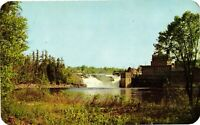 Vintage Postcard  Lyons Falls On Moose River Joins Black River New York NY #1713
