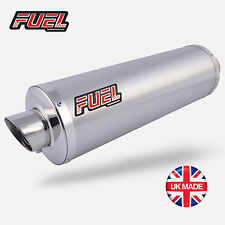 KTM 125 Duke 2017+ Slash Brushed Stainless Round MicroMini UK Road Legal Exhaust