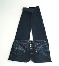 GANG Röhren Jeans NENA SKINNY W27 ca L30 S dunkel blau super Zust