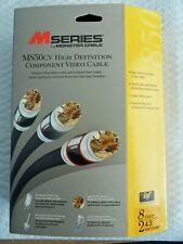 New 8ft  Monster Cable M Series M850CV HD  Component Video 127679-00 Free Ship