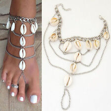 Shell Alloy Fashion Anklets