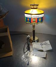 Ältere originale Whiskey Werbung vintage convertible Tischlampe Wandlampe ovp.