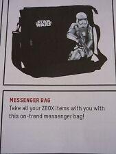 Zbox New star wars messenger bag storm trooper & added yoda at xmas key ring