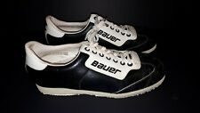 VTG Bauer Leather mens curling shoes made in Czechoslovakia size 9 1960s 1970s