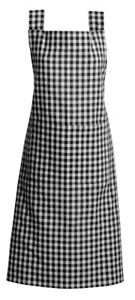 Gingham Apron Adjustable 100% Cotton Strap by Rans