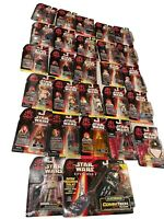 Star Wars EPISODE 1 Commtech Lot Talking Figures Reader Obi Wan Skywalker Darth