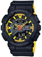 BRAND NEW CASIO G-SHOCK GA110BY-1A ANA-DIGI YELLOW/BLACK MEN'S WATCH NWT!!!