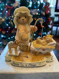 Cherished Teddies Christmas Elijah 112545 boxed ~ ornament figurine