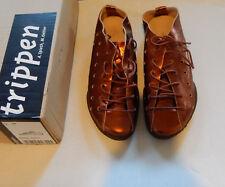 TRIPPEN  Breeze amber Schnürschuhe 38  shoes bronze UK 5.5