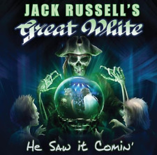 GREAT WHITE (JACK RUSSELL)-HE SAW IT COMIN (BONUS TRACK) (US IMPORT) CD NEW
