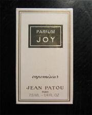 JOY by Jean Patou - Parfum 7.5ml Vapomiseur Spray / 1970's Vintage - Old Formula