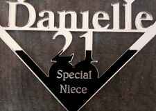 21st BIRTHDAY GIFT, SPECIAL FRIEND PERSONALISED , WITH YOUR MESSAGE