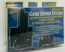 Intec Game Sound System PlayStation 2. Sealed, New.
