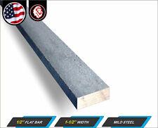 12 X 1 12 Steel Flat Bar Metal Stock Mild Steel 12 Long 1 Ft