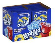 20 BLUE RASPBERRY LEMONADE MYSTERY FLAVOR Kool Aid Drink Mix dye Vitamin C