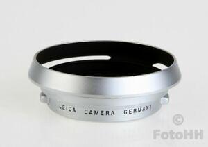 RARE AND ORIGINAL SILVER LEICA LENS HOOD FOR LEICA SUMMICRON-M 1: 2.0/35mm ASPH.