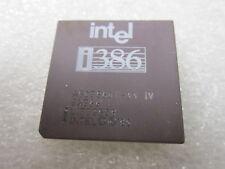 Intel i386 A80386DX-33 SX366 1985 Rare Vintage CPU PROCESSOR, GOLD