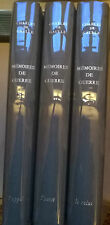 MEMOIRES DE GUERRE 3T, par Charles de GAULLE, Editions PLON, 1963