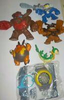 McDonalds Happy Meal Toys lot of 6, inc Skylanders, Pokemon & Yo-Kai watch