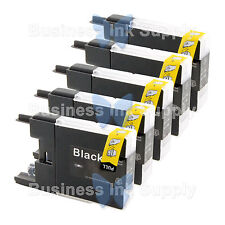 5 BLACK LC71 LC75 Compatible Ink Cartirdge for BROTHER Printer MFC-J435W LC75BK