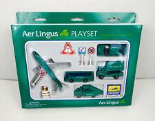 Vintage Aer Lingus Diecast Metal Playset Ireland Welly Die Casting New Old Stock