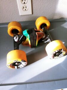 Gullwing trucks And Sector 9 Wheels