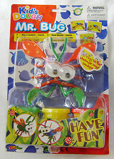 NEW MR BUG KIDS DOUGH MODELLING PLAY CLAY SET MAKE A FUNNY INSECT Purple WINGS
