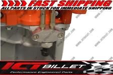 """Oil Pan Pressure Sensor Adapter Port Dual 1/8"""" npt - LS Truck - M16-1.5 Sending"""