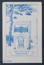 Buvard CENDRE LESSIVE SAINT-MARC Bordeaux pin Blotter