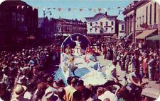 SAUERKRAUT DAY PARADE in FORRESTON, ILL. featuring the Queen from Forreston High