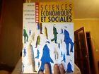 Sciences Economiques Et Sociales ; 1e Livre De L'eleve - Jean-yves Capul