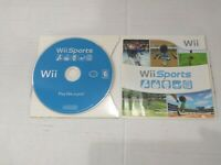 Wii Sports Game (Nintendo Wii 2006) Complete With Manual, Tested & Working.