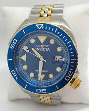 INVICTA PRO DIVER AUTOMATIC BLUE DIAL MEN'S WATCH 30416 $795.00