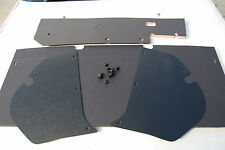 HD HR HOLDEN REAR SEAT & FIREWALL INSULATION & KICK PANELS PLUS CLIPS