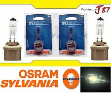 Sylvania Basic Halogen Bulb 893 H27 37.5W Fog Light Replacement Lamp Legal DOT