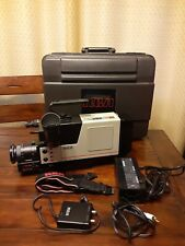 Rca Vhs Camcorder Cc300 Auto Focus Solid State Hq With Accessories And Case