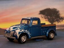 1940 40 FORD PICKUP TRUCK HOT ROD COLLECTIBLE DIECAST DIORAMA MODEL 1/64 SCALE
