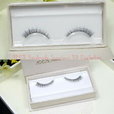 3D Lifelike Handmade Transparent Band Nature Super Short Slender False Eyelashes