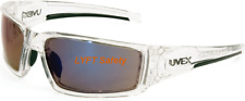 Uvex Honeywell Clear Ice Blue Lens Safety Glasses Anti-Fog UVExtreme Plus S2975