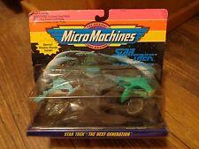 1993 MICRO MACHINES--STAR TREK THE NEXT GENERATION SHIP SET (NEW)
