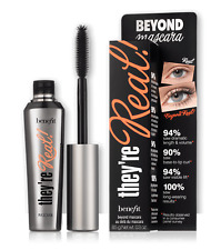 BENEFIT THEYRE REAL BEYOND MASCARA NEW IN BOX FULL SIZE 8.5g BLACK
